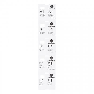 CoatCheck garderobetickets 14 rollen van 325 tickets wit