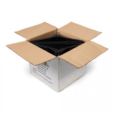 Houten Hangers Zwart doos 50 stuks