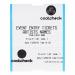 CoatCheck OneFive Ticketprinter concert ticket met controlestrook