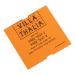CoatCheck rol, Entreetickets economy zonder controlestrook, 14x600 tickets, wit, oranje, blauw, paars