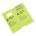 Coatcheck garderobe tickets, 14 rollen x 325 tickets, groen