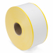 Q-Robe garderobe tickets wit met gele rand