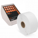 Q-Robe compatible cloakroom tickets white 6 rolls