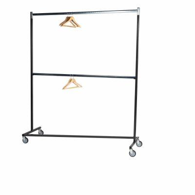 Garderoberek Dubbel Z-Vorm 2 lagen hangers