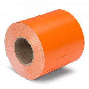 CoatCheck garderobetickets 14 rollen van 325 tickets oranje
