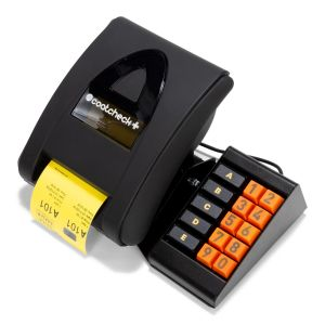 Coatcheck+ Ticket printer with keyboard with ticketrol